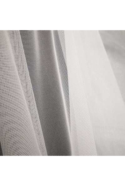 Melodie Beyaz Tül Perde 300 x 270 cm