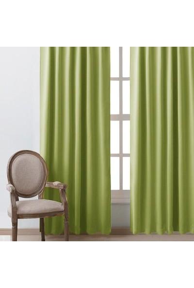 Premier Home Blackout Fon Perde Yeşil 140 x 270 cm
