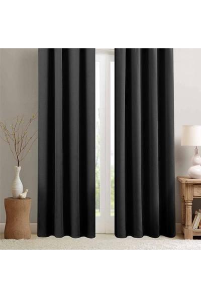 Premier Home Blackout Karartma Fon Perde Siyah 140 x 270 cm