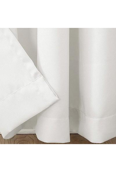 Premier Home Duck Fon Perde Kırık Beyaz 140 x 270 cm