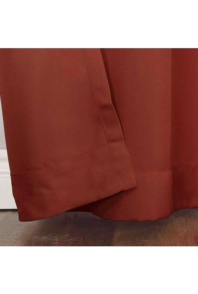 Premier Home Duck Fon Perde Kırmızı 140 x 270 cm