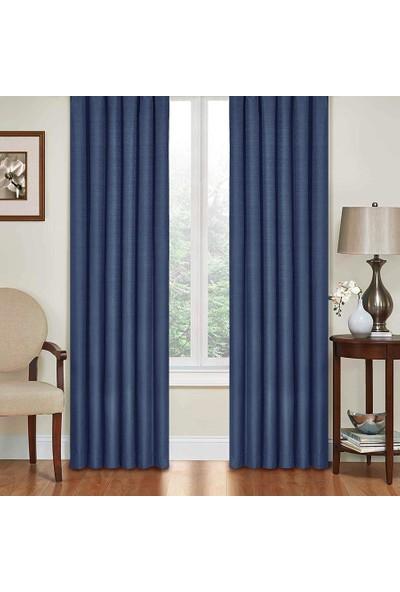Premier Home Fon Perde Mavi 140 x 270 cm