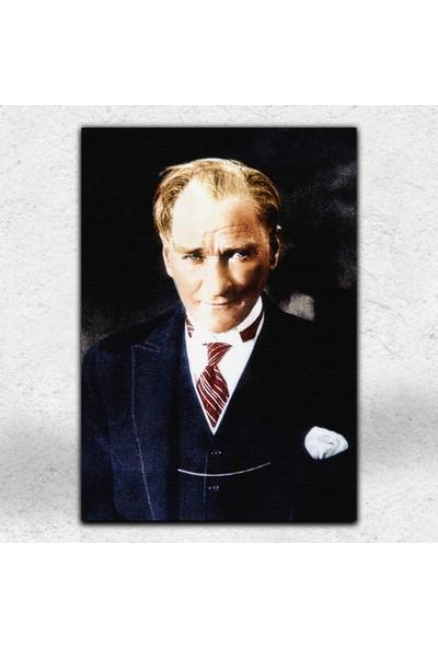 İyi Olsun Atatürk Portresi Dekoratif Kanvas Tablo