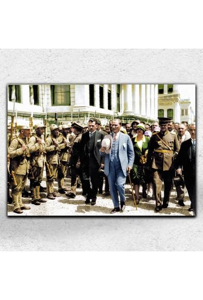 İyi Olsun Atatürk Her Mekana Uygun Dekoratif Kanvas Tablo