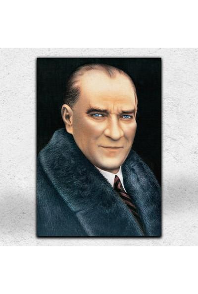 İyi Olsun Atatürk Portresi Kanvas Tablo