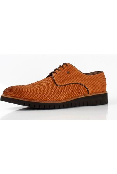 Bruno Shoes Taba Süet Süet Deri Eva Taban Ayakkabı P01-2242 027