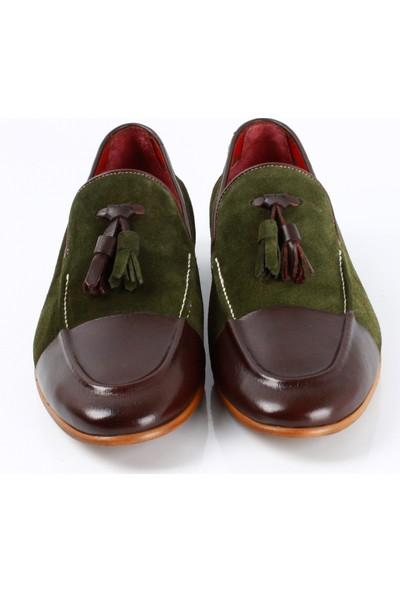 Bruno Shoes Mk-81N Erkek Klasık Neolit Taban Ayakkabı
