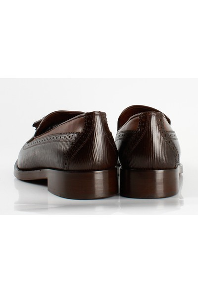 Bruno Shoes 991Gk Erkek Klasık Gazumalı Kösele Taban Ayakkabı