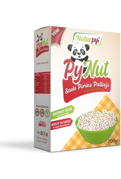 Naturpy Pynut Sade Pirinç Patlağı Glutensiz ve Vegan 200 gr