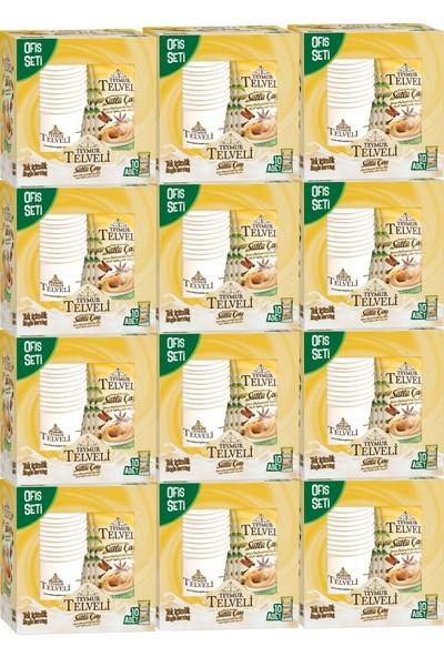 Teymur Telveli Sütlü Çay Baharat Aromalı Ofis Seti 120 Adet