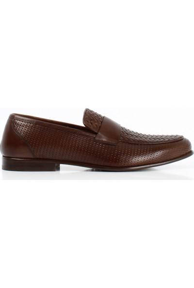 Bruno Shoes 709K Klasık Erkek Orgu Kosele Taban Ayakkabı