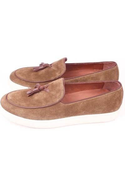 Bruno Shoes 3816Ka Erkek Günlük Deri Kaucuk Taban Ayakkabı