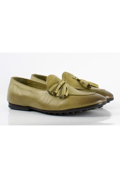 Bruno Shoes 3419Ka Erkek Deri Günlük Kaucuk Taban Ayakkabı