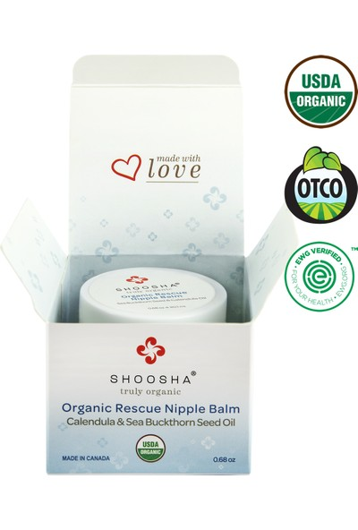 Shoosha Organik Göğüs Ucu Kremi (20,1 ml)