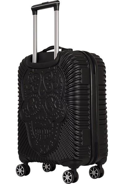 ÇÇS Grillz Collection Policarbon Valiz Büyük Boy Siyah 5180