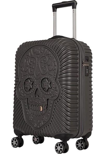 ÇÇS Grillz Collection Policarbon Valiz Kabin Boy Antrasit 5180
