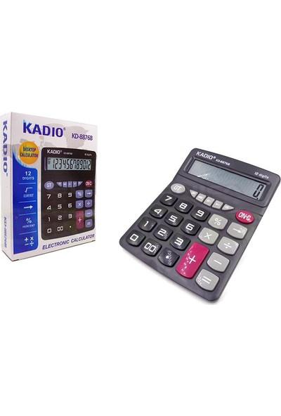 Kadıo Ofis Masaüstü Hesap Makinesi Kd-8876Cs