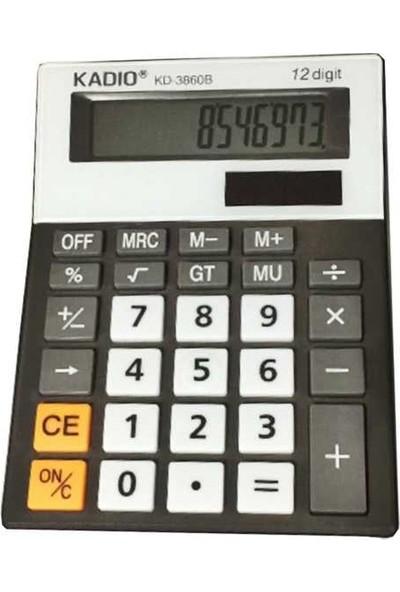 Kadıo Ofis Masaüstü Hesap Makinesi Kd-3860B