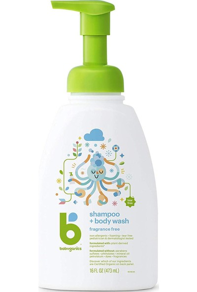 Babyganics Bebek Şampuanı 473 ml