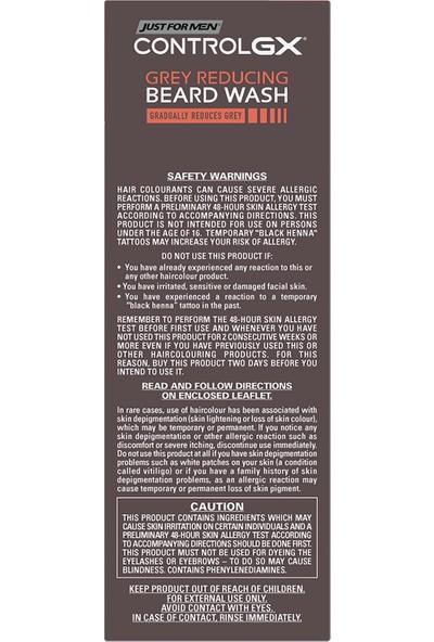 Just For Men ControlGX gri Sakalları Koyulaştıran Şampuan 118 ml