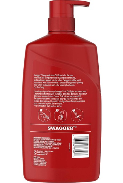 Old Spice R/Z Swagger Vücut Şampuanı 887 ml