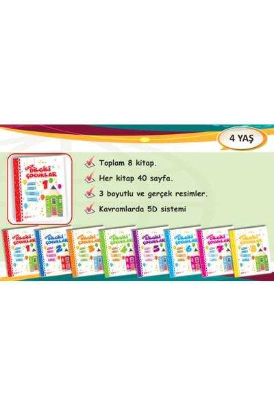 Çook Bilgili Çocuklar Eğitim Seti 4 + Yaş