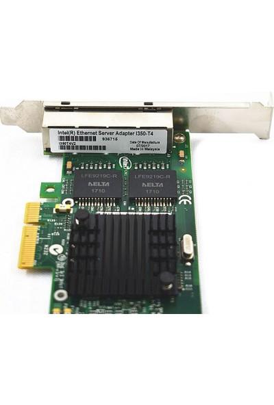 Intel I350-T4 4 Port Gigabit Pci-E Server Ethernet Kart