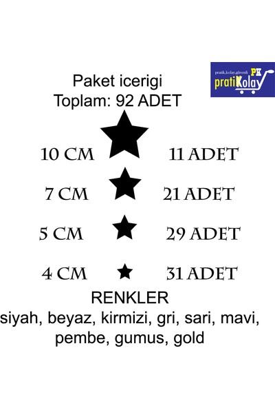 Pratikolay Yildiz Duvar Sticker