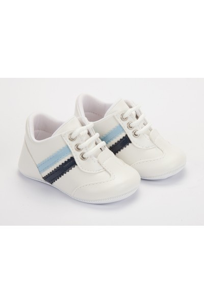 Pattini Bebek Ayakkabı Makosen Spor Mavi Lacivert 18