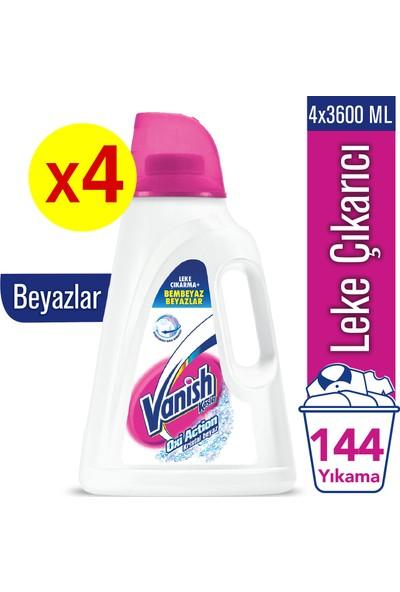 Vanish Kosla Sıvı Leke Çıkarıcı Kristal Beyaz 3600 Ml x 4 Adet