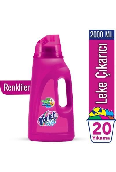 Vanish Kosla Oxi Action Sıvı Leke Çıkarıcı 2000 ml