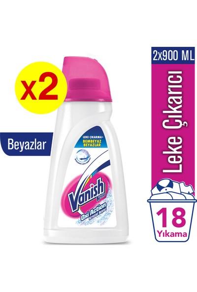Vanish Kosla Oxi Action Pembe Sıvı Leke Çıkarıcı 900 ml x 2 Adet Beyazlar İçin