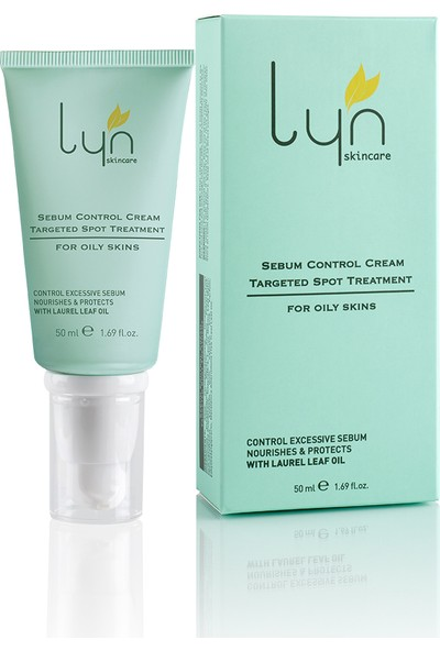 Lyn Skincare Yağli Ci̇ltler İçi̇n Sebum Kontrol Kremi̇ 50 ml