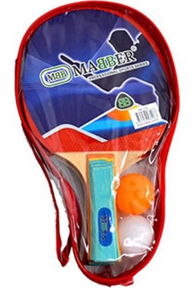 Mabber MR226 Çantalı Raket Seti 2'li Oval