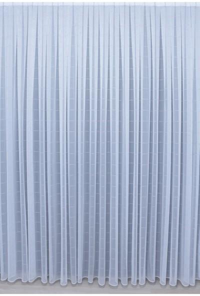 Brillant Tül Perde Gülal-802 1/3 Sık Pile - Boy 260