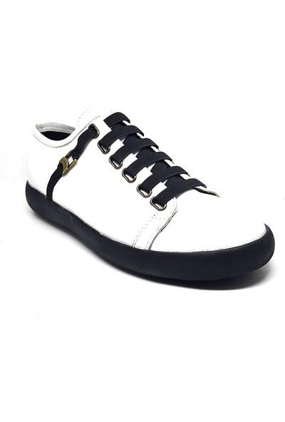 Shop And Shoes 304-512 Erkek Ayakkabı Beyaz