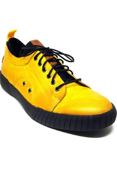 Shop And Shoes 304-1007 Erkek Ayakkabı Sarı