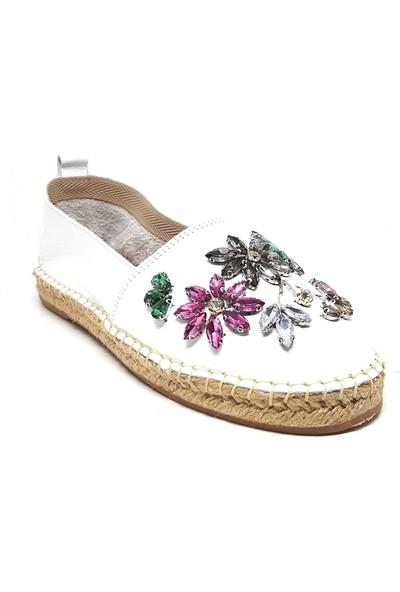Shop And Shoes 214-Z-205 Kadın Ayakkabı Beyaz