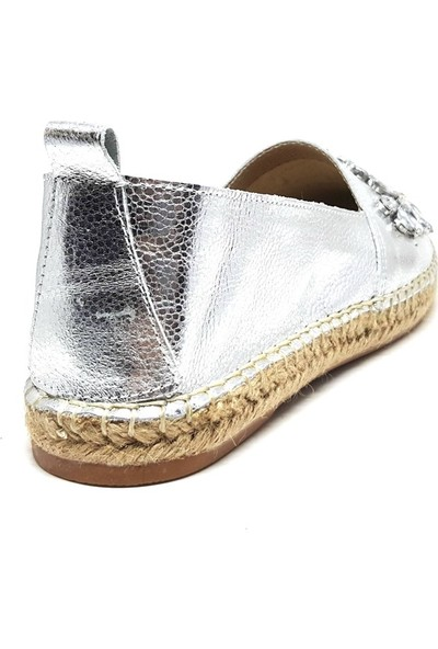 Shop And Shoes 214-Z-205 Kadın Ayakkabı Gümüş
