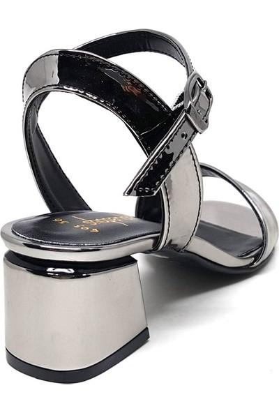 Shop And Shoes 122-493 Kadın Ayakkabı Platin Ayna