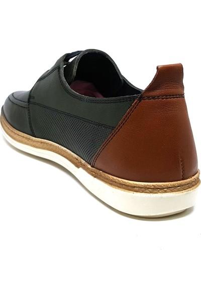Shop And Shoes 018-1825-1 Erkek Ayakkabı Yeşil