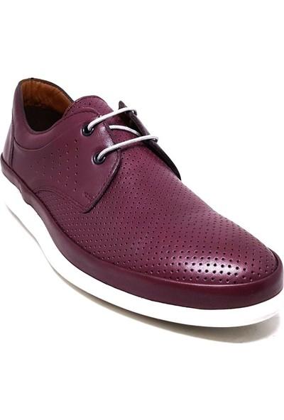 Shop And Shoes 018-653 Erkek Ayakkabı Bordo