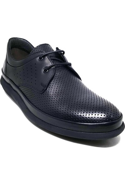 Shop And Shoes 018-653 Erkek Ayakkabı Siyah