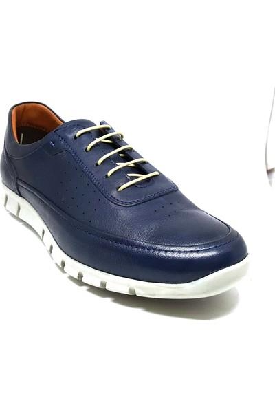 Shop And Shoes 018-679 Erkek Ayakkabı Lacivert