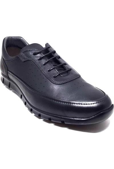 Shop And Shoes 018-679 Erkek Ayakkabı Siyah