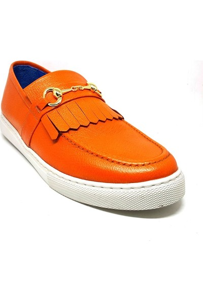 Shop And Shoes 016-194 Erkek Ayakkabı Turuncu