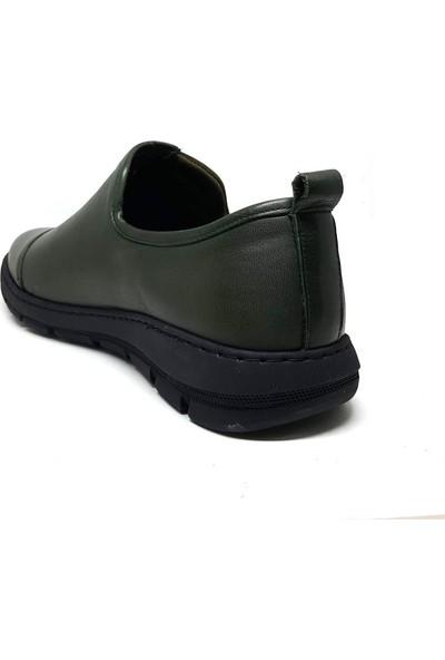Shop And Shoes 093-5027 Erkek Ayakkabı Yeşil