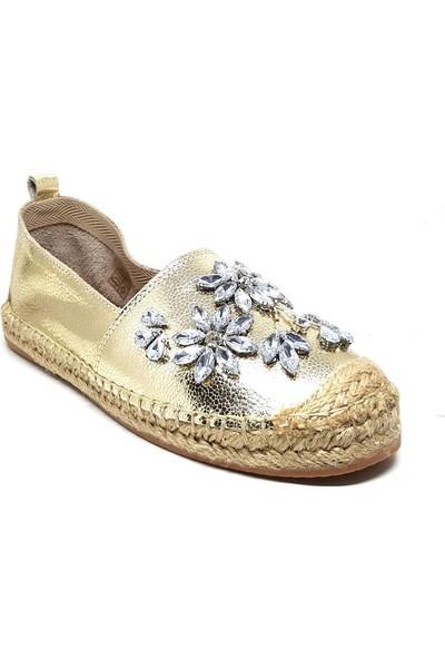 Shop And Shoes 214-Z-205 Kadın Ayakkabı Altın
