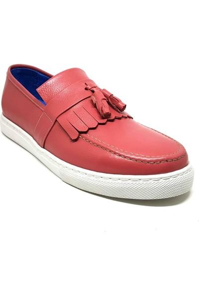 Shop And Shoes 016-194 Erkek Ayakkabı Mercan