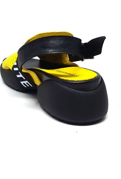 Shop And Shoes 212-9059-1 Kadın Sandalet Sarı